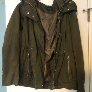 Rain / utility style jacket